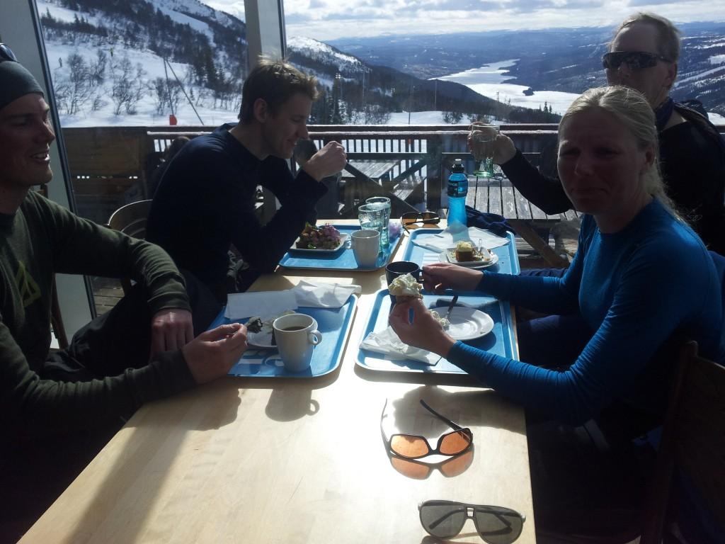 Taktikfika på Åre Ski Inn